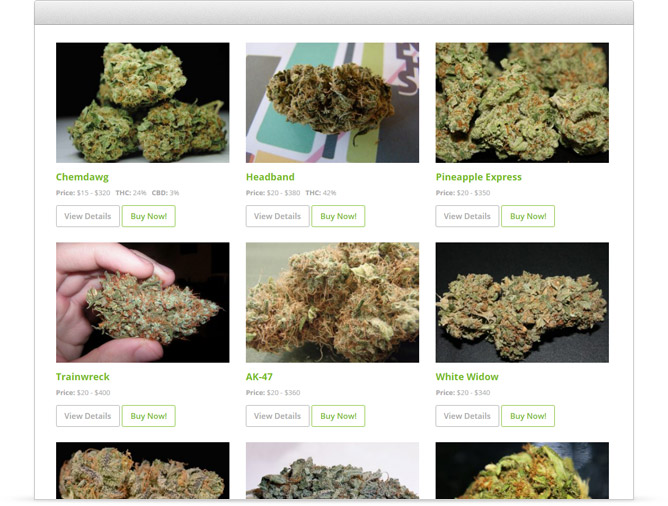 dispensary menu plugin