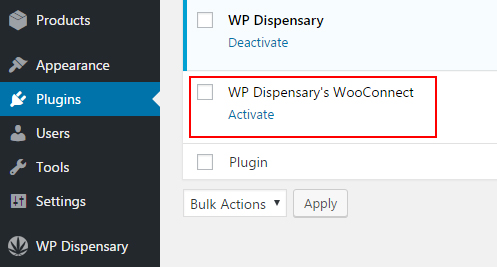 WP Dispensary's WooConnect for WooCommerce