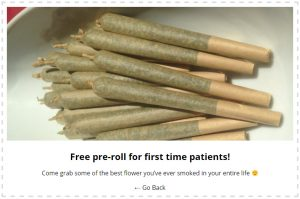 WP Dispensary's Coupons add-on