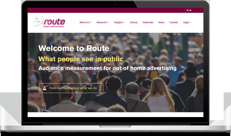 Route Research Ltd - CannaBiz WordPress theme example