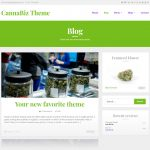 CannaBiz - Marijuana WordPress theme