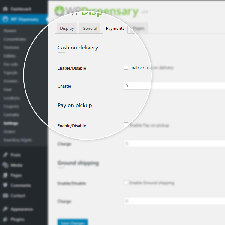 WP Dispensary eCommerce teaser - WordPress plugin