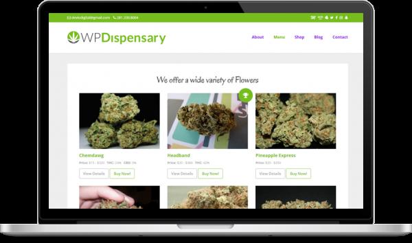 CannaBiz WordPress marijuana theme