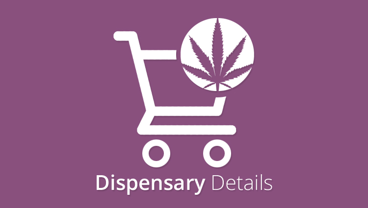 Dispensary Details for WooCommerce - WooCommerce Marijuana Plugin